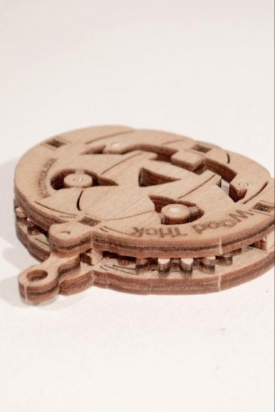 Wood Trick 3D mechanické puzzle - Dyňa